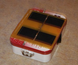 Smart mint the solar phone charger
