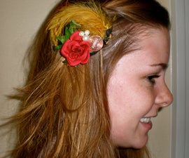 How to make Decorative Hair Barrettes