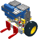 Lego Studless Framed Marine Vacuum Engine