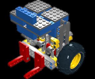 Lego Studless Framed Marine Vacuum Engine