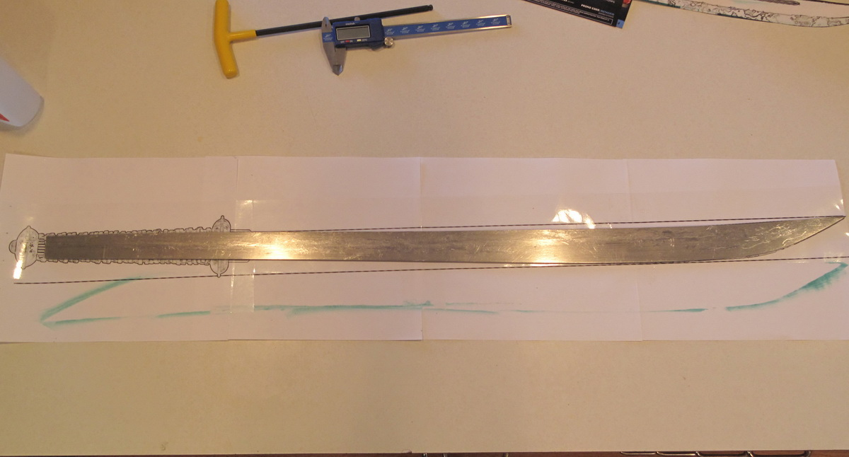 Picture of Make a Barbarian's Sword