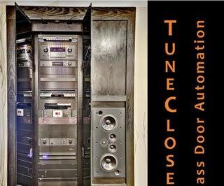 TuneCloset Glass Door Automation