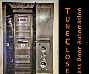 TuneCloset Glass Door Automation