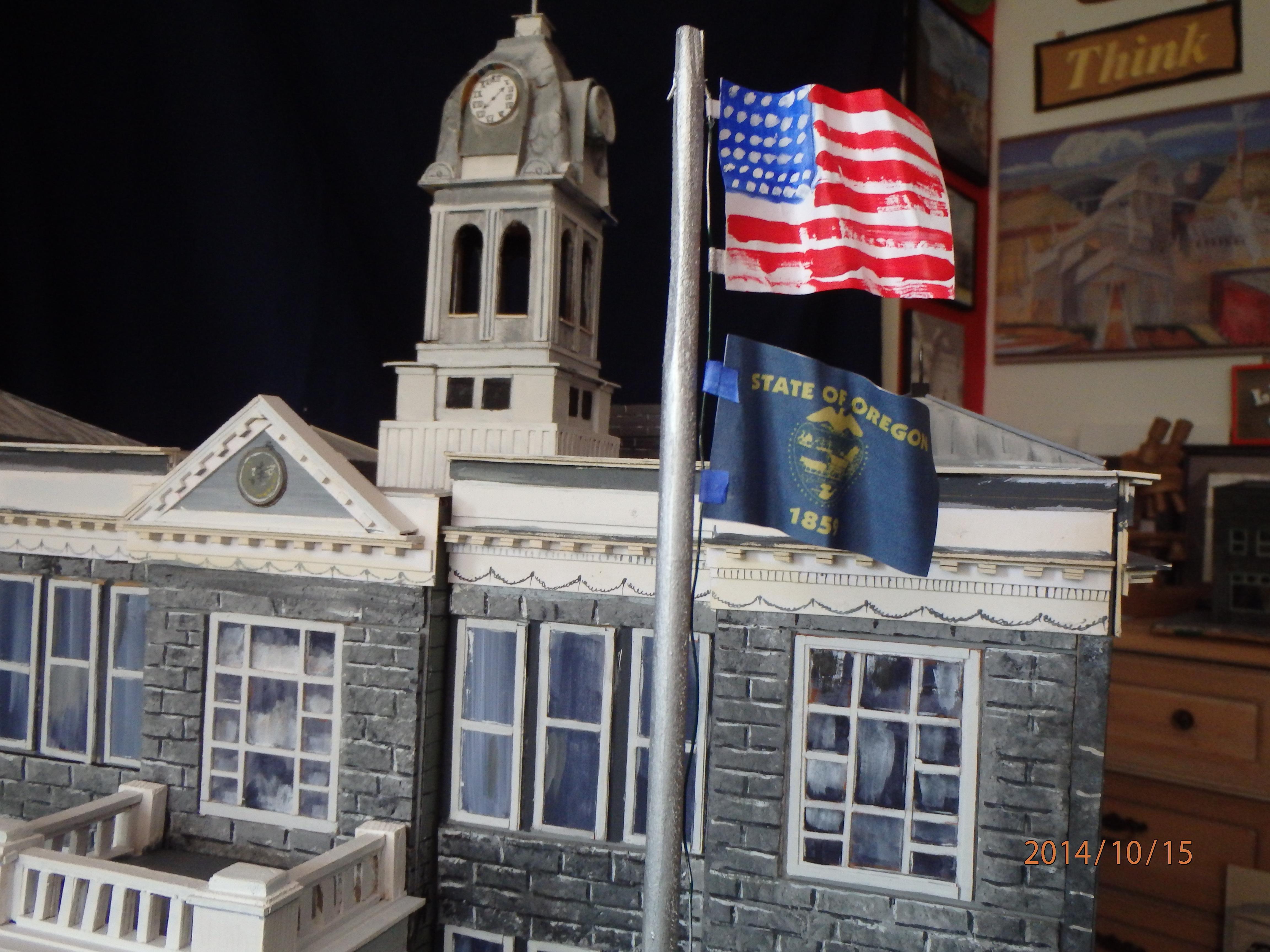 Picture of Chimney, Flagpoles, Columns, Etc