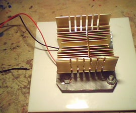 Thermoelectric generator (Heat to Electrical power)