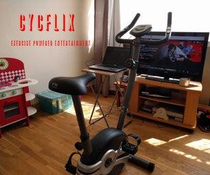 Cycflix: Exercise Powered Entertainment