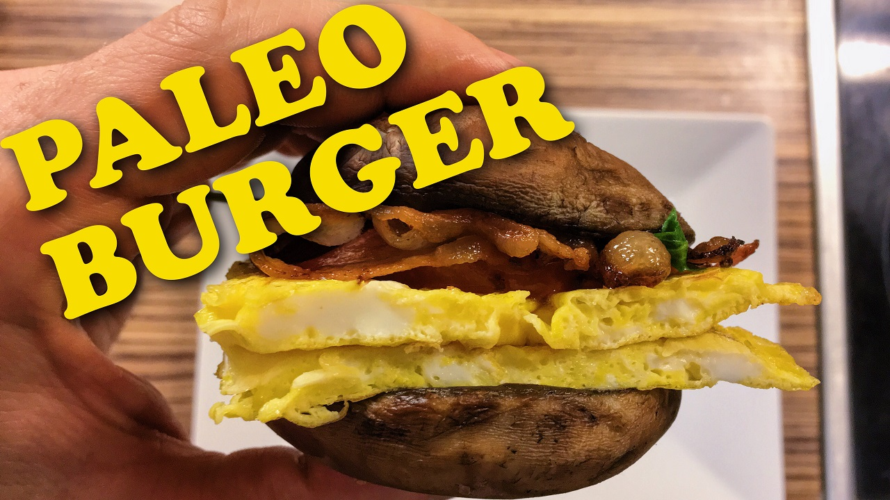 Picture of Paleo Burger   Delicious Burger Without Bun