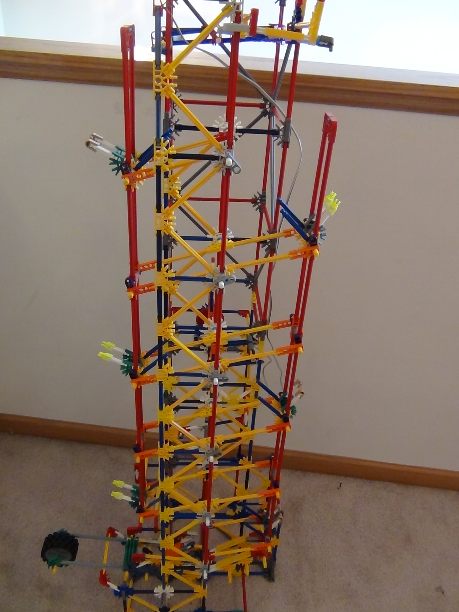 Picture of Knex Simple Modified Stepper Lift