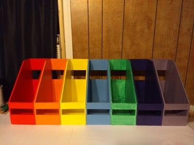 Rainbow File (stuff) Holder