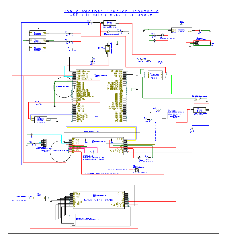 Picture of Electronics Parts List and Schematic
