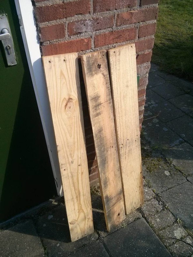 Picture of Cutting Planks and Clamping
