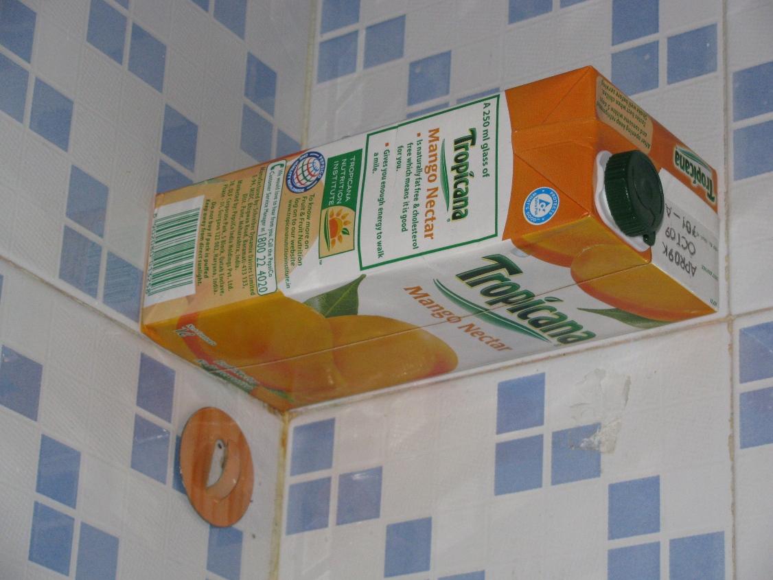 Picture of Tetrapak Mini Wall Shelf (Juice Carton, Tetra Pack Reuse)
