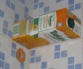 Tetrapak Mini Wall Shelf (Juice Carton, Tetra Pack Reuse)