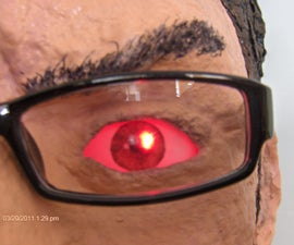 Charlie Sheen's Warlock Laser Eyes