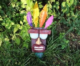 Aku Aku Mask From Crash Bandicoot