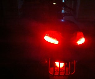 Bright and Visible Tail Lights for Foggy Days