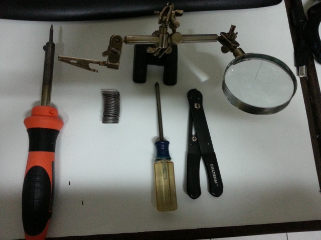 Picture of Parts List / Tools Needed