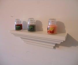 Make a Crown Molding Shelf (Picture Ledge)