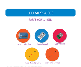 LED Messaging With Arduino