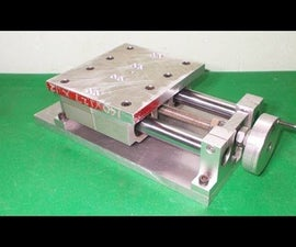 Homemade Vertical Milling Machine DIY X Y Z Axis Slide Mechanism CNC