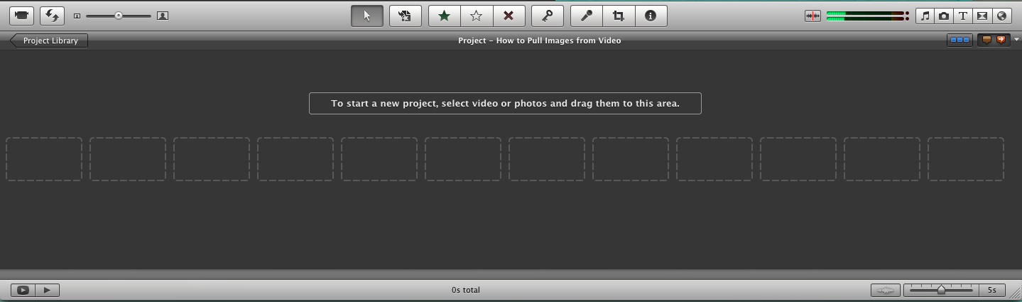 Picture of The IMovie Method Part 1