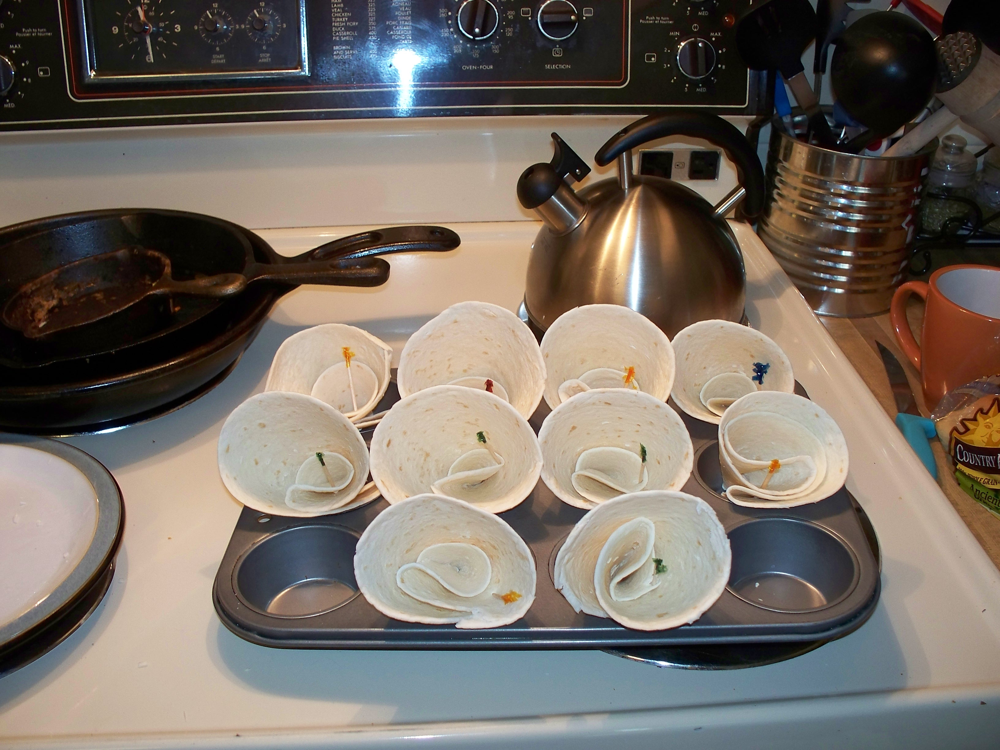 Picture of Making the Shells