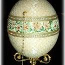 Ostrich Beaded Jewel Box