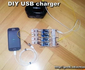 DIY USB Charger for Your Phone - LM2596