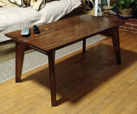 coffee table .. old to new