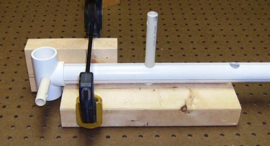 Attach the 6-inch Block to the Jig's Base