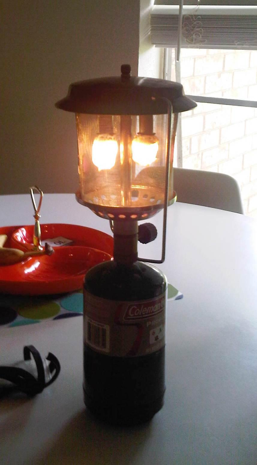 $2 Indestructible Wire Mesh Globe for Propane Lantern: 7 Steps