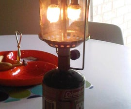 $2 Indestructible Wire Mesh Globe for Propane Lantern