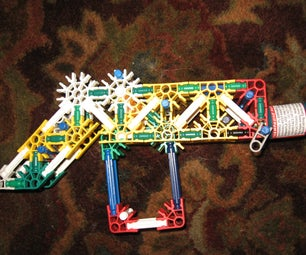"Knex Party Popper Gun (""shoots"" Party Poppers)"