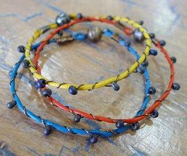 Wire Twined Bracelet