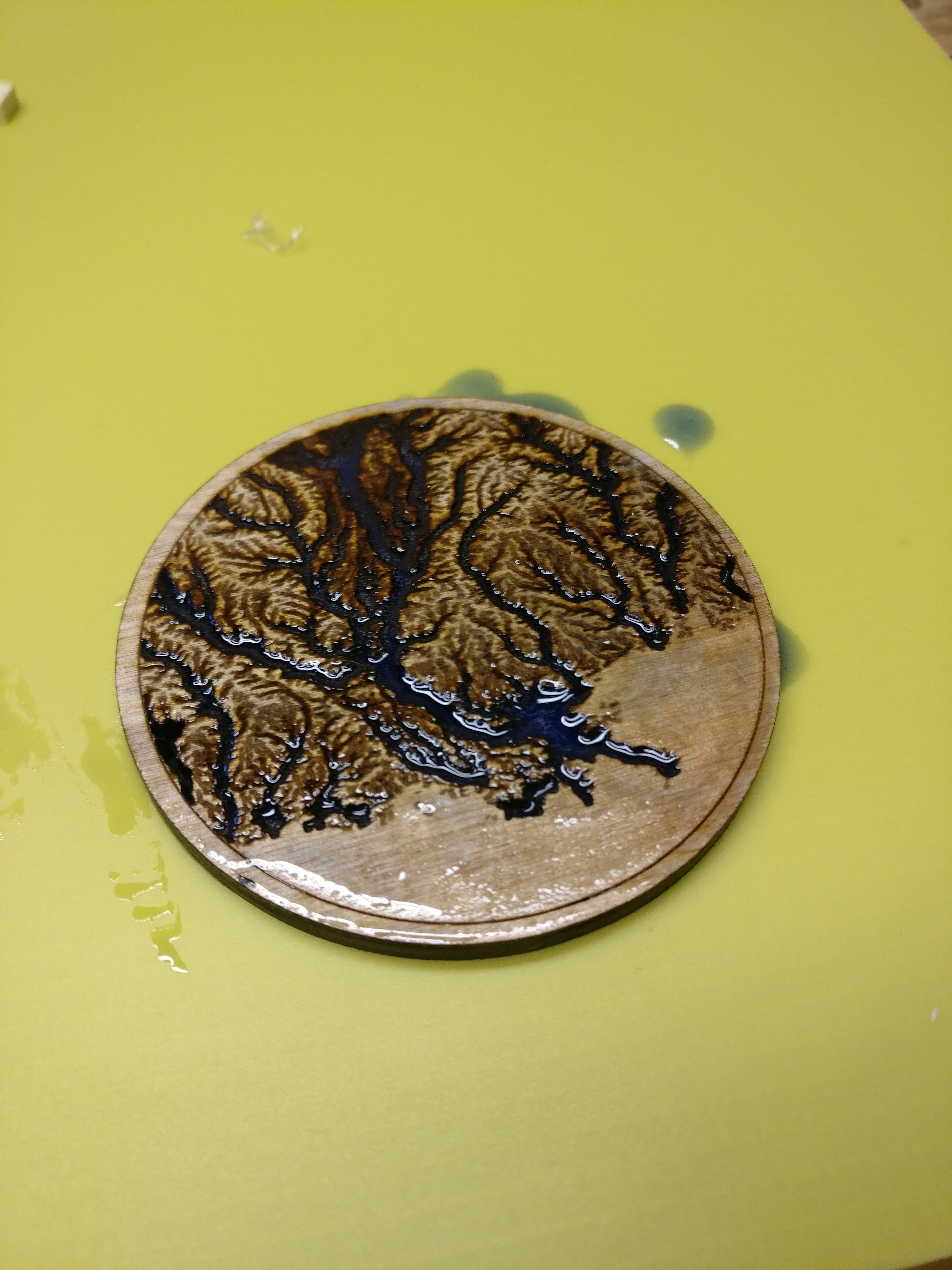 Picture of Epoxy Resin Testing