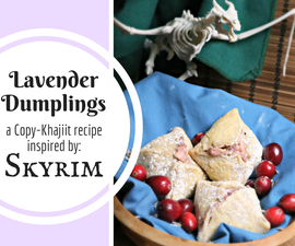 Lavender Dumplings from Skyrim