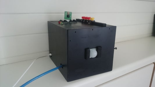 RPI Safety Camera With Motion Detection