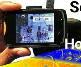 Make Basic Infrared Thermal Imaging Camera for Cheap ! Convert Any Camera Into Infrared Thermal Camera