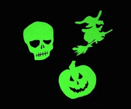 Glow In The Dark Halloween Decorations