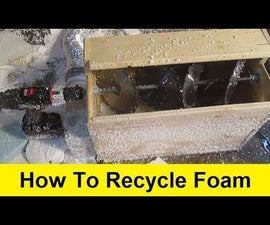 How to Recycle Foam Into Insulation