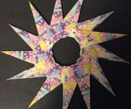 Easy Origami Modular Star
