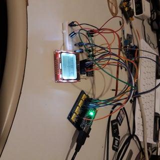 Arduino Digital Magnetic Compass (HMC5883L - 2 Display Modes)