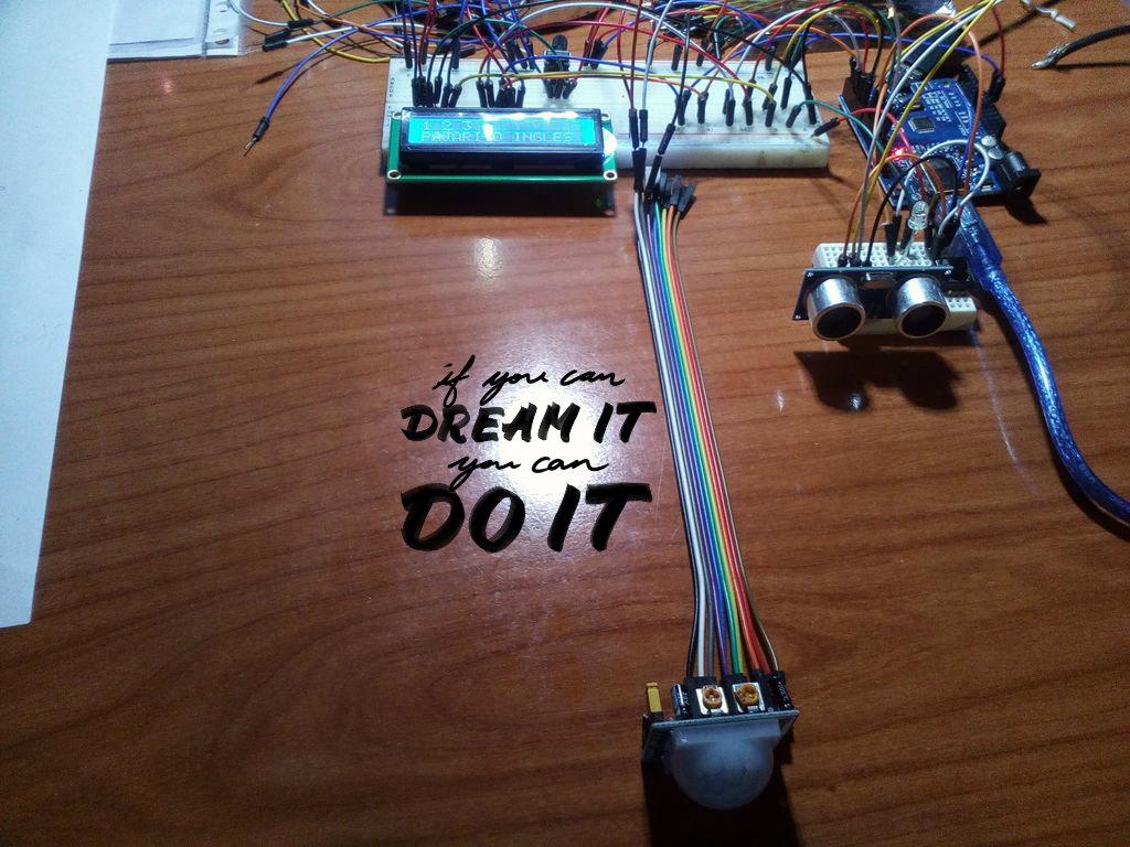 Picture of 1,2,3,...Pajarito Ingles-Proyecto Arduino