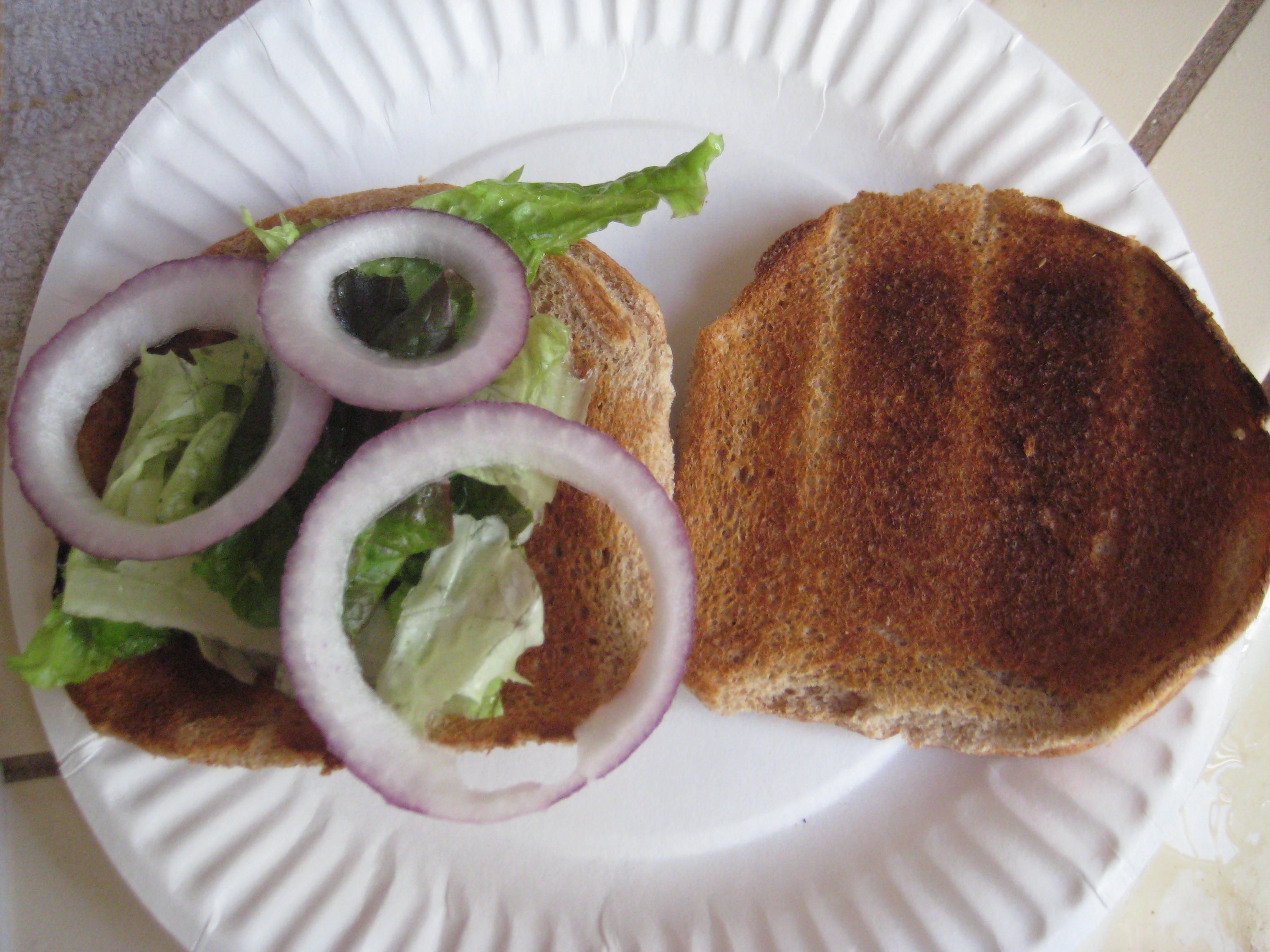 Picture of Assembling You Sandwich