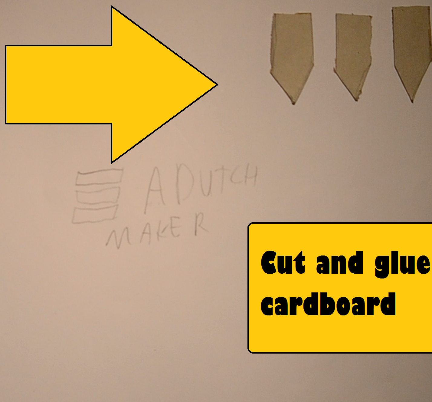 Picture of Cut and Glue Cardboard