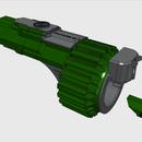 3D Printable Nerf-Style Gauntlet: Falconer MK II