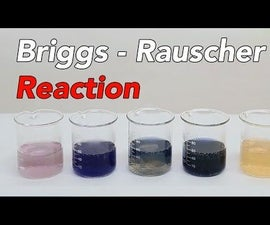Awesome Oscillating Reaction (Briggs-Rauscher Reaction)
