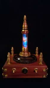 Steampunk Oriental Night Light - Nur-al-Andalus