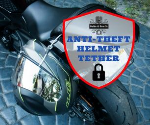 Anti-Theft Moto & Bike Helmet Tether Lock