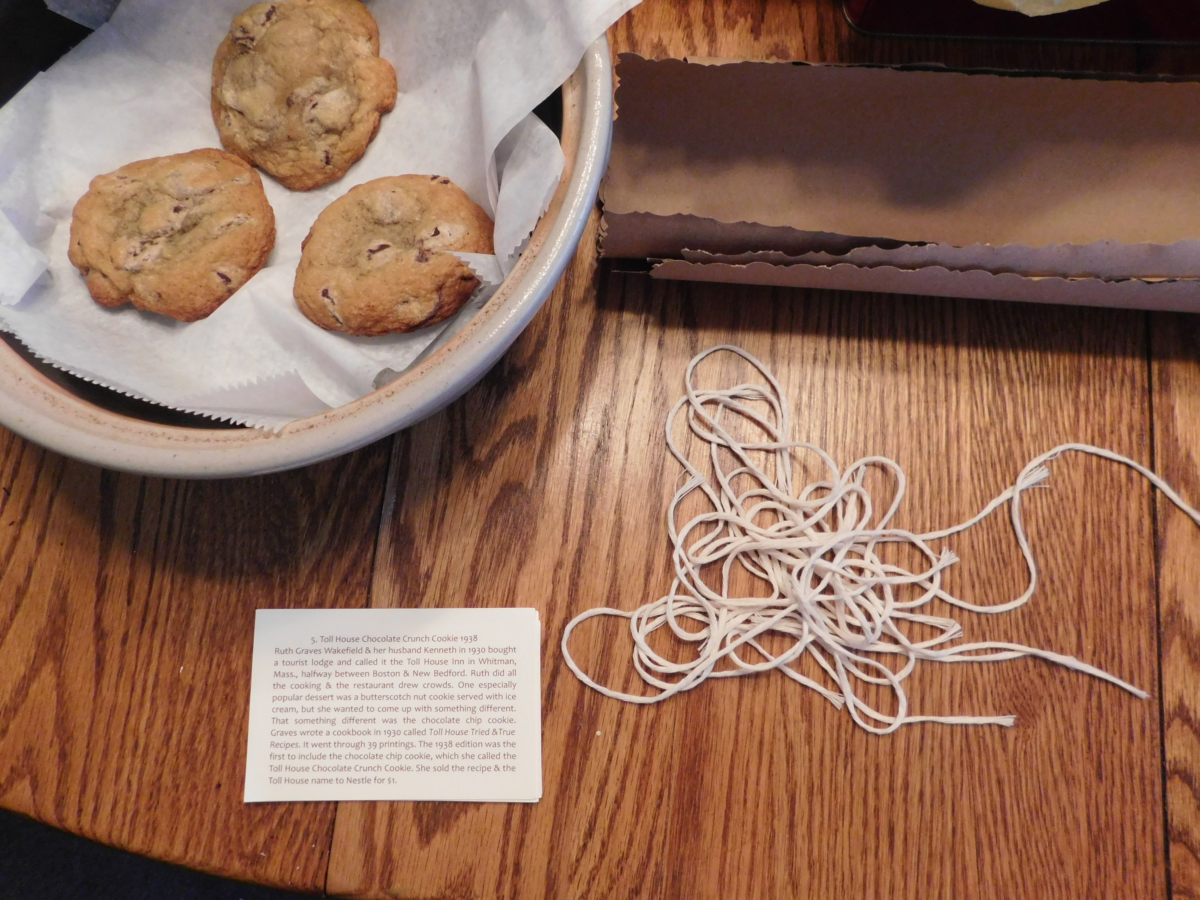 Picture of Finishing Up the Cookie Wrapping
